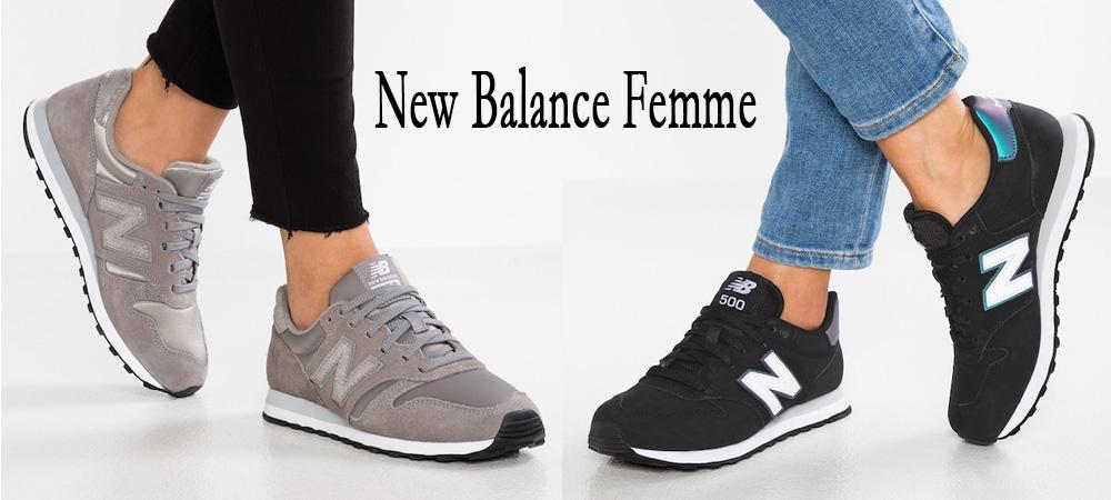 femme chaussures new balance