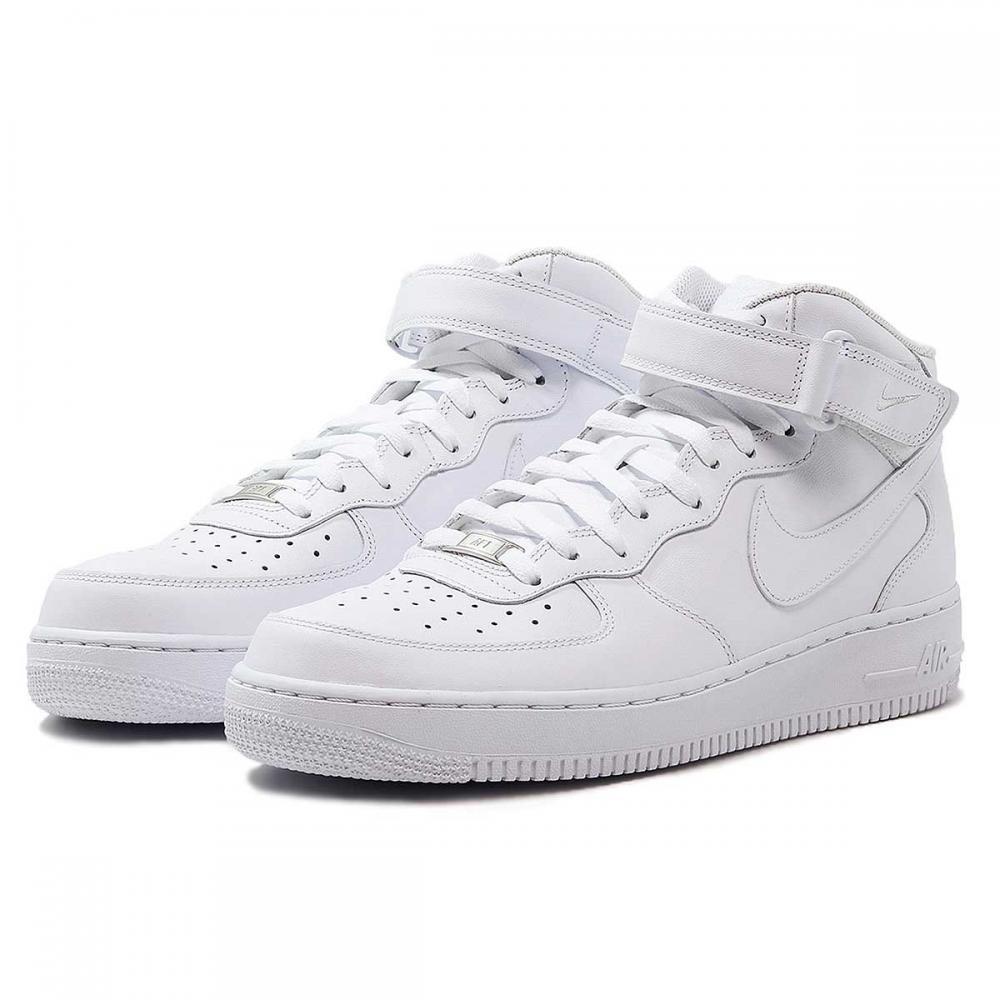 air force 1 mid blanc